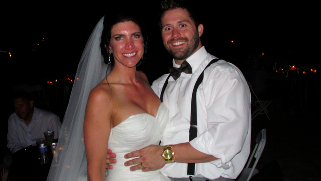 Kimberly and Andrew Hangartner