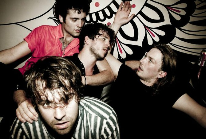 Brit-pop four-piece the Vaccines take the Casbah stage on Saturday.