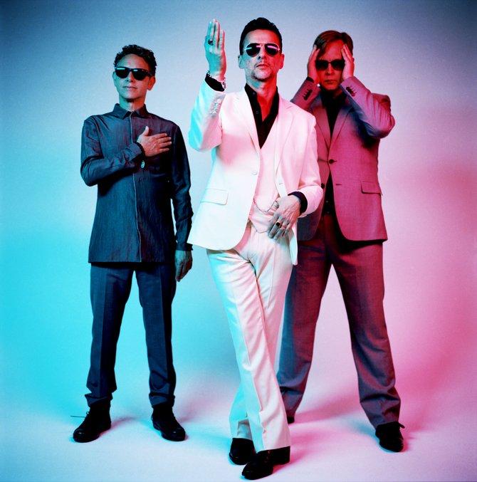 New wave staple Depeche Mode rolls into Sleep Train on Sunday.