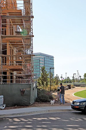 Issues concerning the distance the development's buildings are set back from property lines precipitated the giveaway.