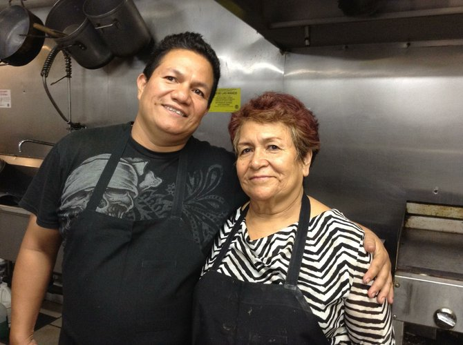 Alfredo and his mom, Ma Eugenia