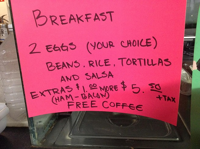 Great breakfast deal, too