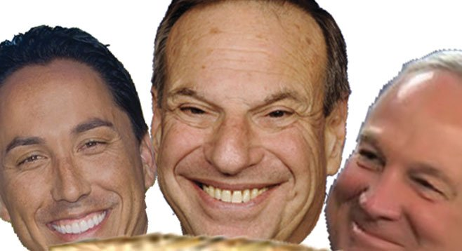 Todd Gloria, Bob Filner, Jerry Sanders