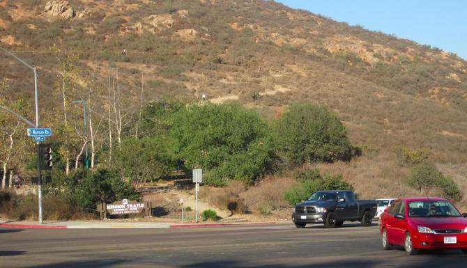 Some San Carlos residents believe providing parking on Navajo Road will lead to accidents.