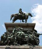 Statue at Sofia City Center