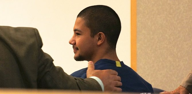 Diego Nunez, 18, was advised to choose family over gang. Photo Eva.