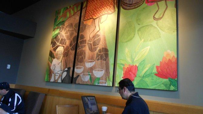 Starbucks on Newport Ave. in Ocean Beach.