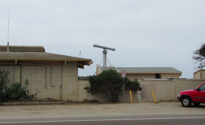 Site of new radar in Carlsbad
