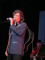 Charismatic showman David J. Sherry performing with his Diamond Is Forever! Band in Concert Sept 21st 2013 at the AVO theater in Vista.