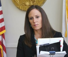 Prosecutor Tracy Prior. Photo Weatherston.