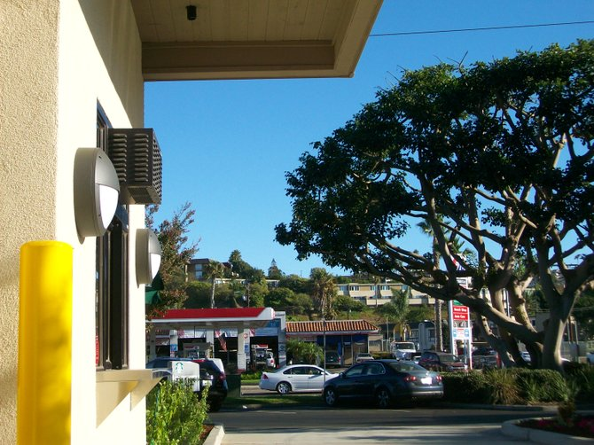 Brand new Starbucks drive-thru on West Pt. Loma in Midway District.
