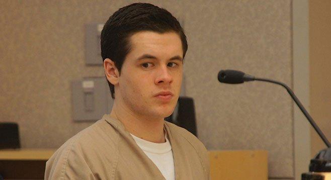 Wyatt Johnson pleaded guilty to burglarizing his grandmother's Escondido neighbors.