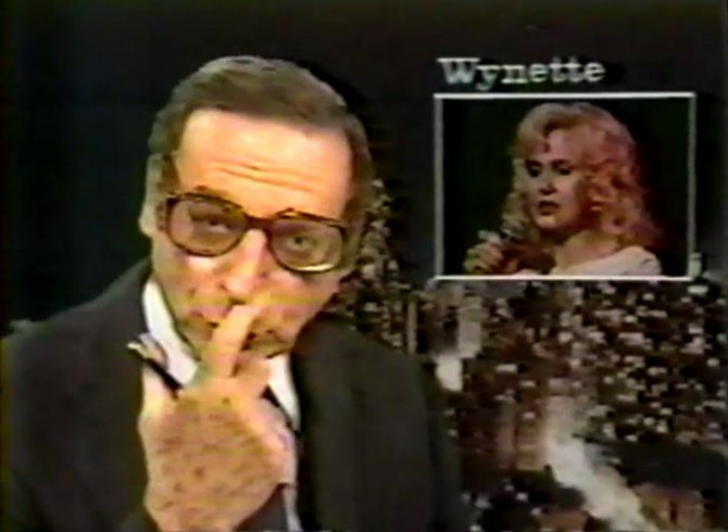 """Wynette's daughter gave birth to a granddaughter in a Nav-ville... Nash-ville hos-pit-allll..."""