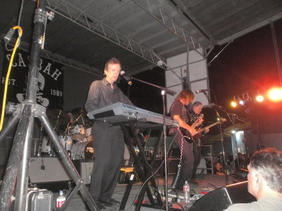 The Standells at the Adams Avenue Street Fair. L-R Larry Tamblyn, Mark Adrian and John Fleck. Photo by Bart Mendoza
