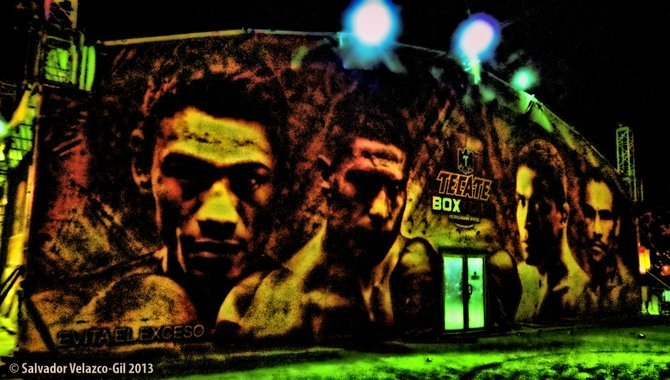Neighborhood Photos TIJUANA,BAJA CALIFORNIA. The faces of boxing /Las caras del boxeo.