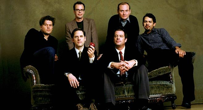 Desert-rock collective Calexico takes the stage at Belly Up on Sunday.