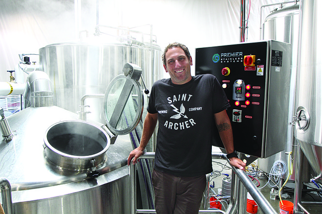 """""""We have built this brand solely on Instagram,"""" says Saint Archer Brewing's Josh Landan. """"We have more followers than Sierra Nevada."""""""