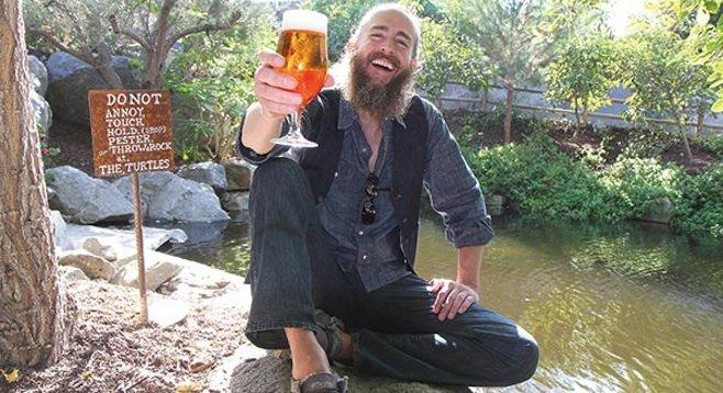 Koch at Stone Brewing World Bistro & Gardens in Escondido - Image by Howie Rosen