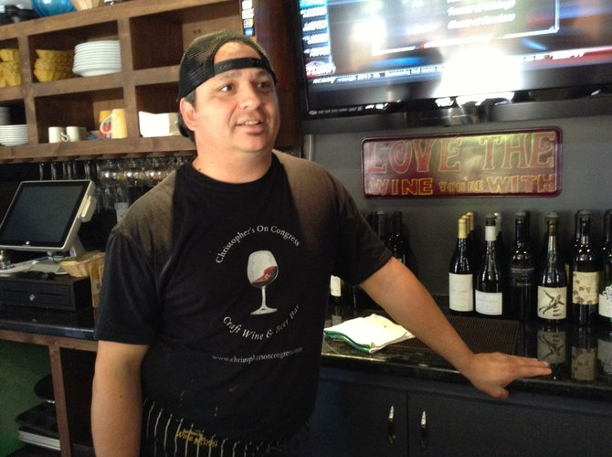 Chef-owner Christopher Tatalovich