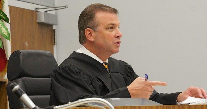 Superior Court Judge, Hon. Blaine Bowman. Photo Eva.