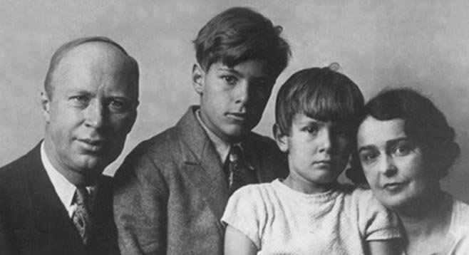 Prokofiev and family