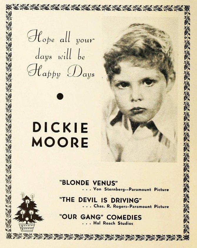 """Hollywood Filmograph,"" December 31, 1932."