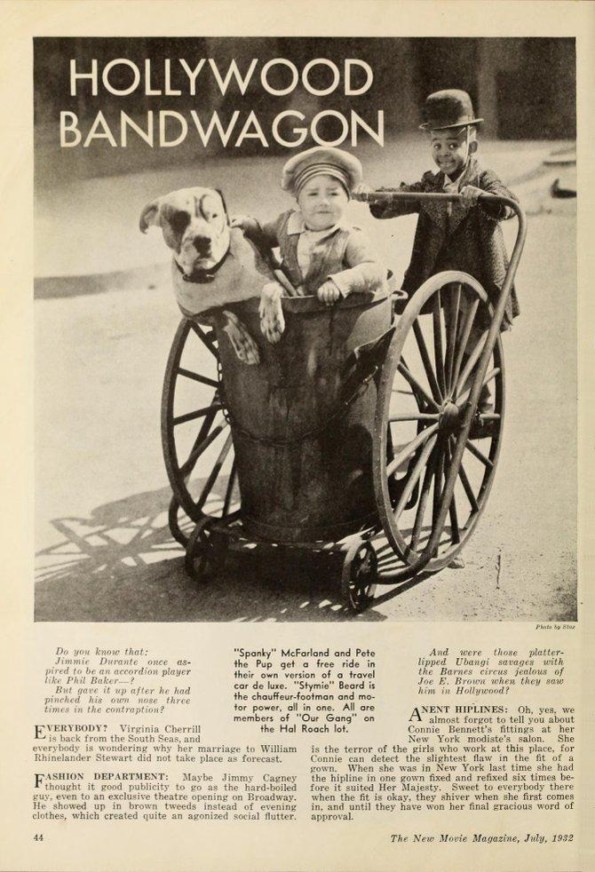 """The New Movie Magazine,"" July 1933."