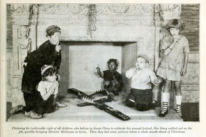 """Our Gang"" Christmas. ""Photoplay,"" January, 1925."