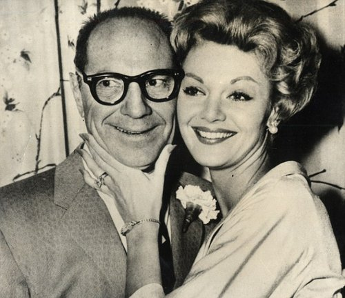 Barbara with hubby #2, Zeppo Marx.