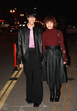 Daniel Custodio and Iris Palma