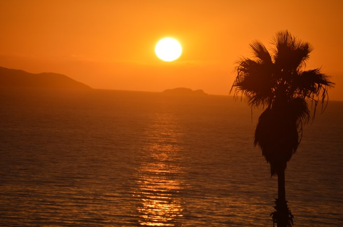 San Antonio Del Mar sunset Baja, Mexico