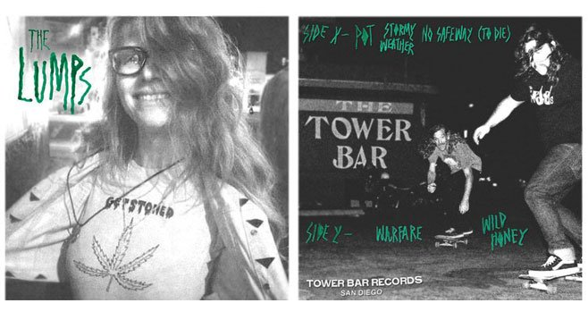 The Lumps' vinyl debut is also Tower Bar Records' debut.