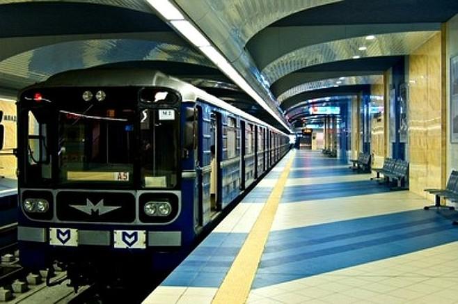 Subway in Sofia.