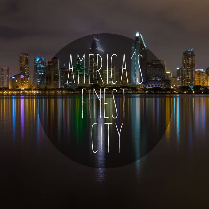 America's Finest City. Photo by Gigante Imagery - Adam J Reiter Photography.