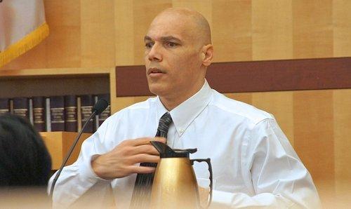 Christopher Selena testified in his own defense. Photo Eva.