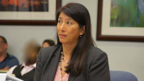 Prosecutor Natalie Villaflor charged first degree murder. Photo Eva.