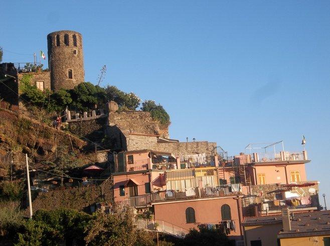 Vernazza's Doria Castle.
