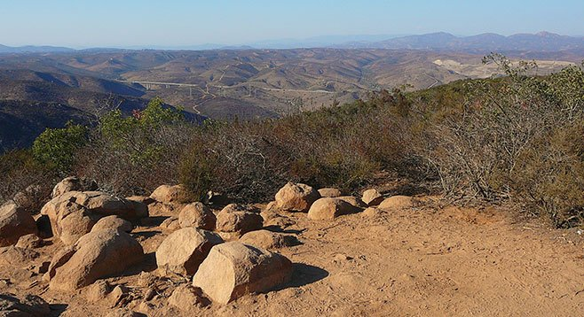 Kwaay Paay Peak's vigorous hike, great views, and lack of crowds make it a welcome alternative to its Mission Trails neighbor, Cowles Mountain.
