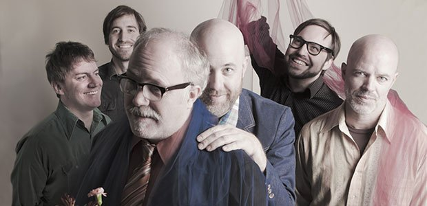 L.A.'s slo-fi sextet Radar Bros. plug in at Bar Pink Thursday night.