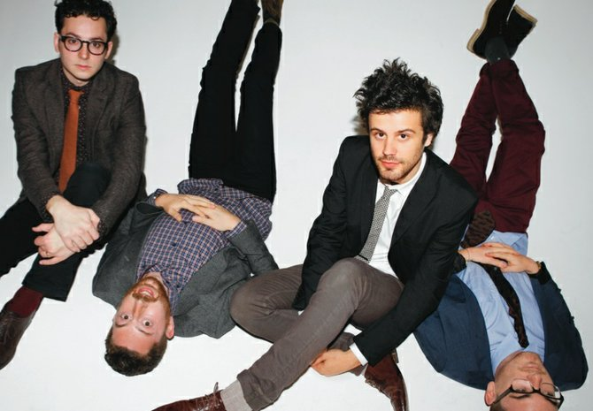 Synth-pop hits Passion Pit play the Open Air on Tuesday.