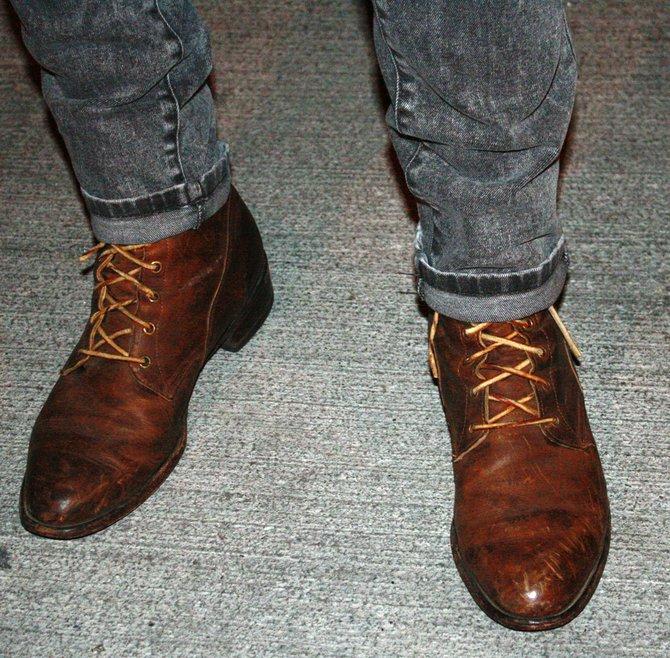 Burke's vintage boots