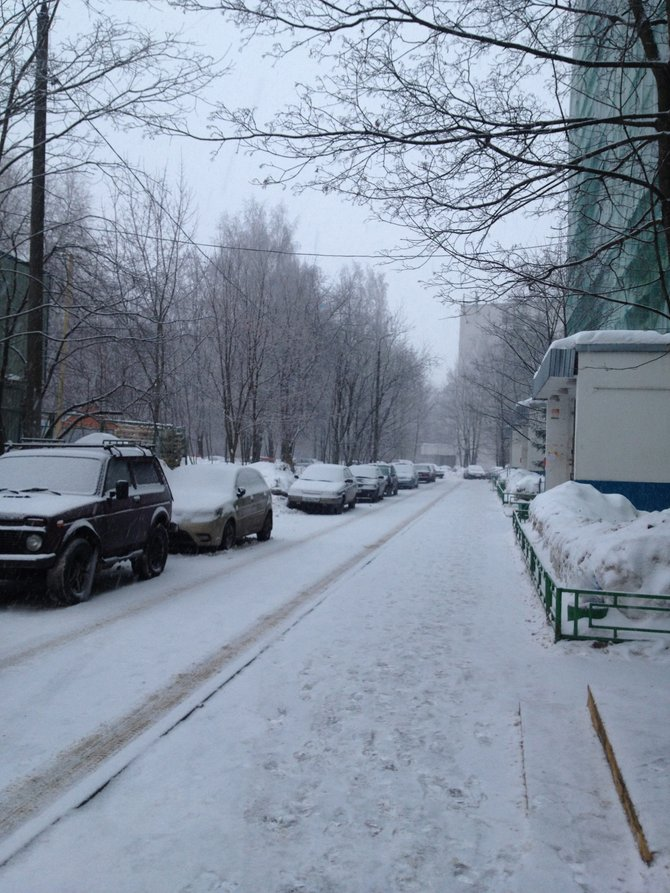 Moscow Winters  Photographed by Natasha Rockland