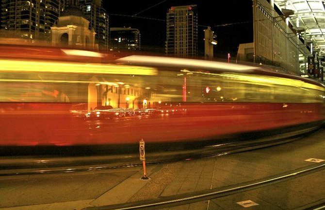 and she's gone...