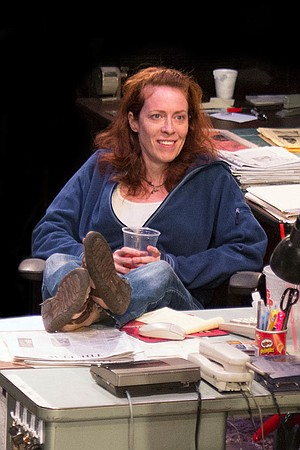 Eva Kaminsky as QZ.
