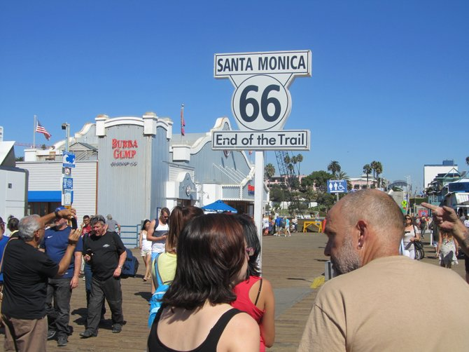 Santa Monica Pier by Iolanda Scripca