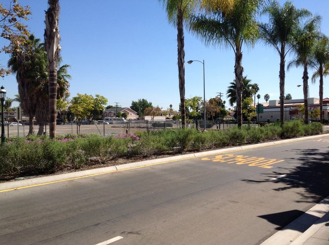 Vacant land owned by Sweetwater District on Third Ave