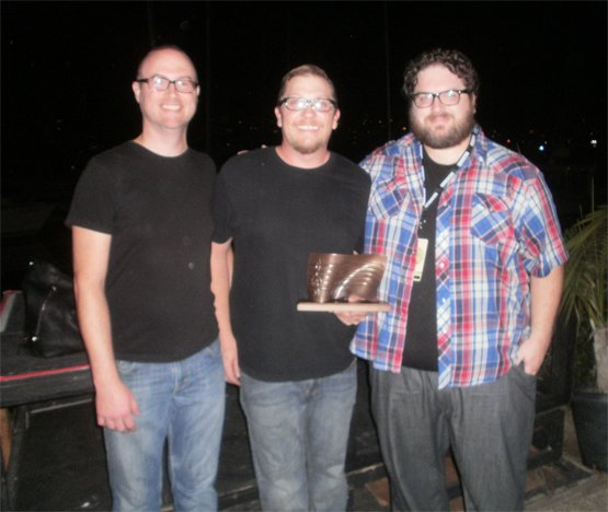 Trio Old Tiger took home an SDMA for best pop album, Love have Mercy.