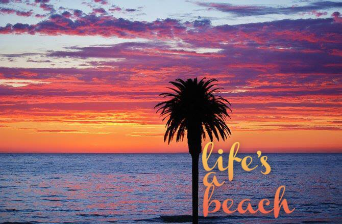 Life's a Beach. Photography provided by San Diego Scenic Photography.