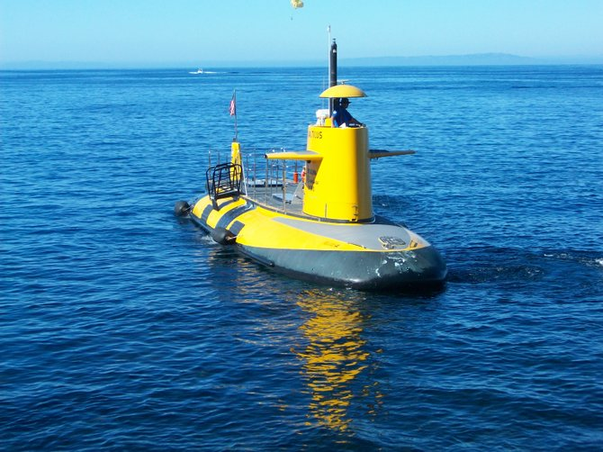Submarine tours off Catalina Island in Avalon.