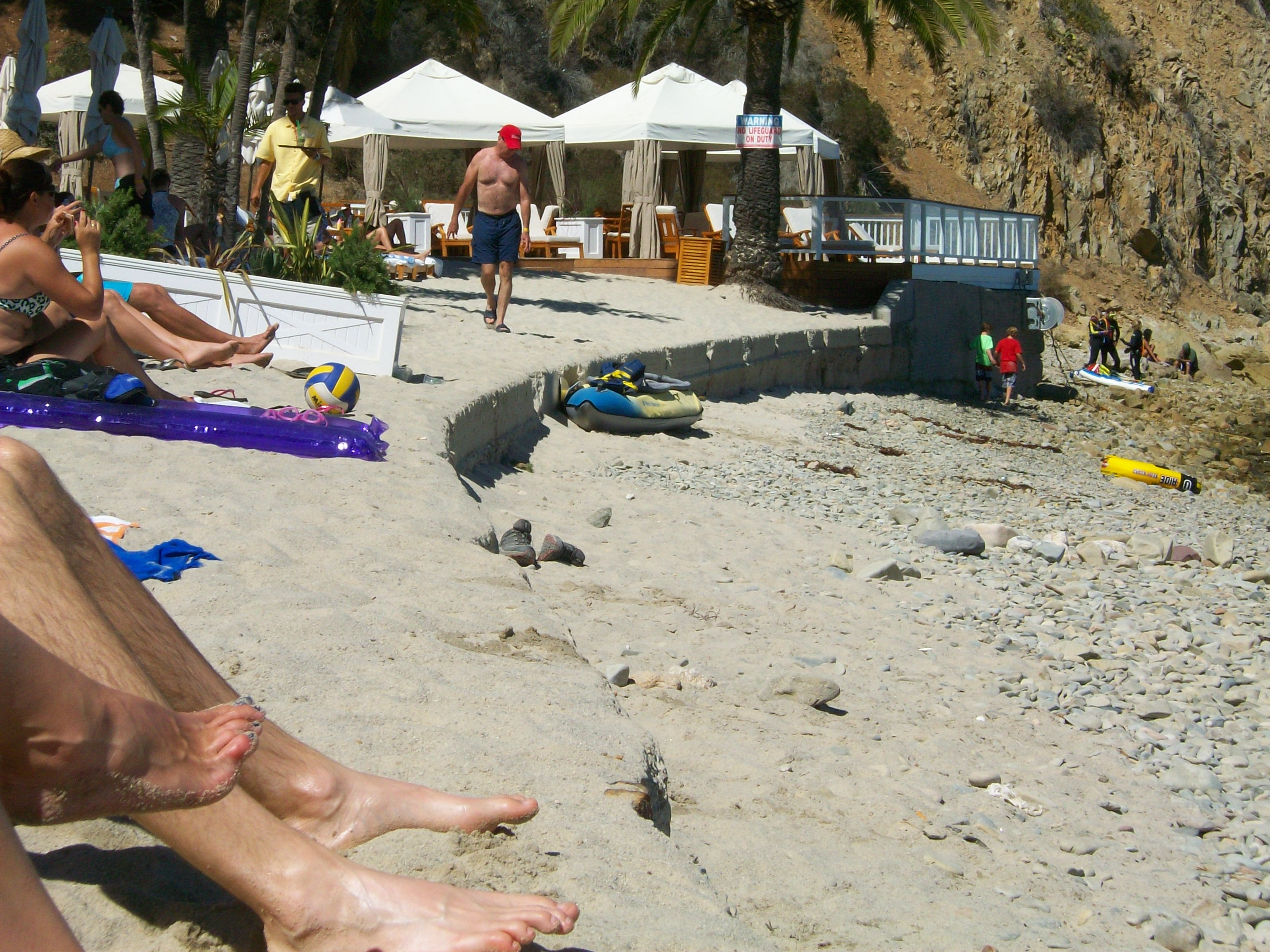 Descanso Beach Club on Catalina Island.